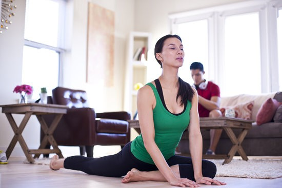 Practice-Yoga-at-Home How to Practice Yoga at Home